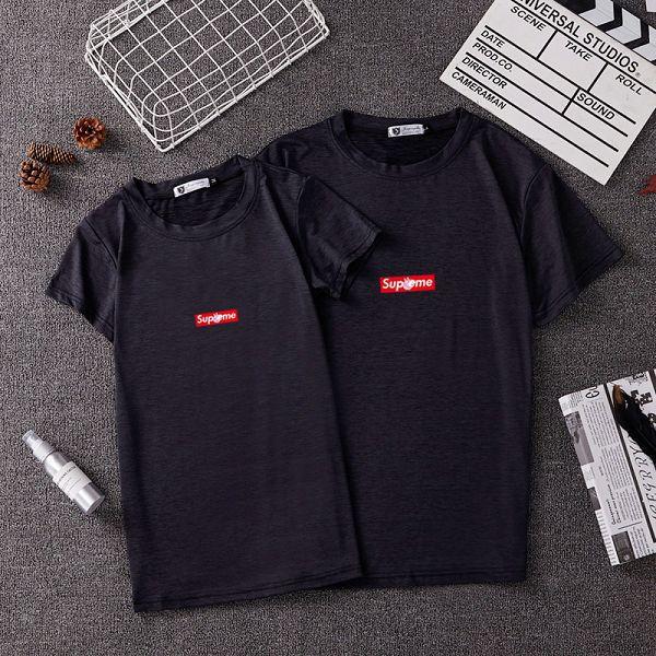 supreme 2019新款短T 情侶款圓領短袖T恤 PF