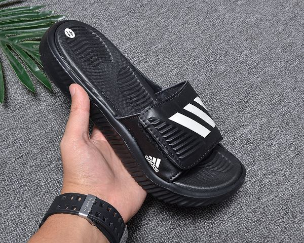 adidas 愛迪達 2019新款魔術貼男生拖鞋