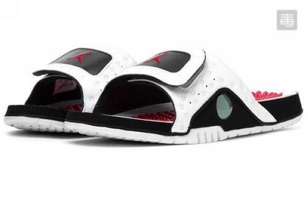 Air Jordan Hydro 13 Retro He Got Game 喬丹13代 2019新款 硅膠按摩底熊貓男子拖鞋