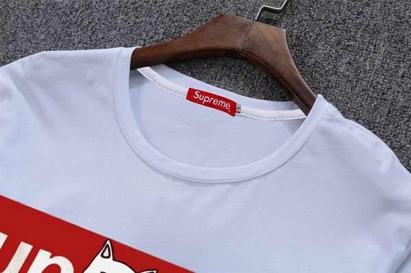 supreme t恤 2018新款 中指貓男生圓領長袖T恤 MG