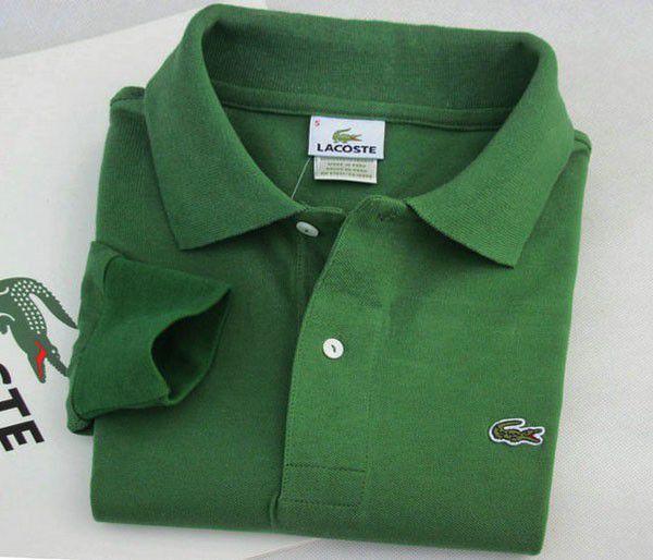 lacoste 鱷魚polo衫 經典款翻領長袖情侶裝polo衫