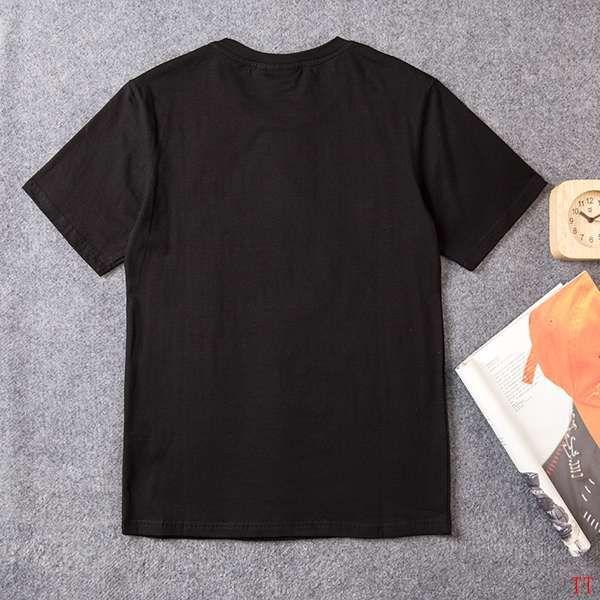 fila斐樂 2018新款 經典字母印花男生休閒短袖T恤 黑色