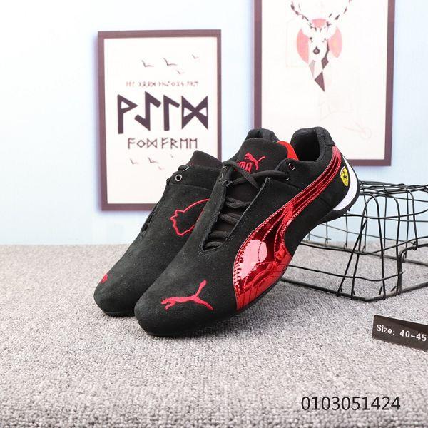 PUMA彪馬 Future Cat Leather SF 法拉利 2019新款男生運動休閑賽車鞋