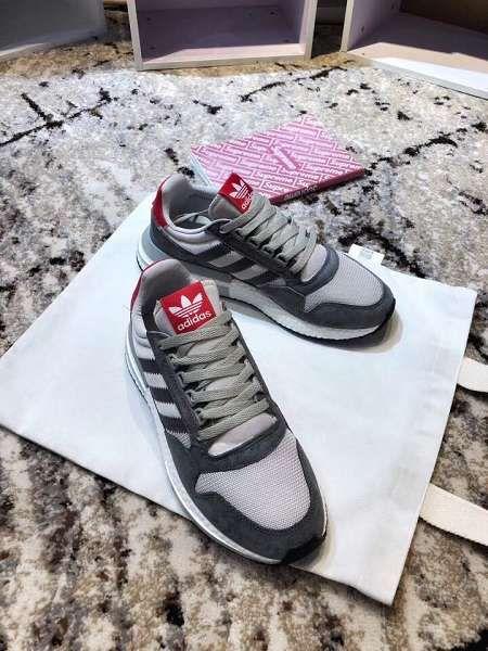 adidas ZX 500 Boost 2018新款 透氣休閒情侶慢跑鞋