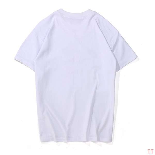 supreme衣服 2018新款 經典款刺繡休閒圓領短袖T恤 白黑