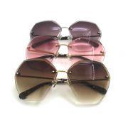 chanel眼鏡 香奈兒2017新款太陽眼鏡 71181幾何六邊形時尚太陽眼鏡