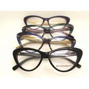 D&G眼鏡 DOLCE&GABBANA時尚新款眼鏡 DG5015貓眼系列時尚平光眼鏡
