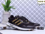 adidas neo 2018新款 網布百搭超軟底情侶慢跑鞋