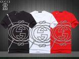 gucci短袖 2019新款 繩子字母男生休閒圓領短袖T恤 MG222款