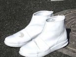 nikelab benassi boot lux 貝納西限量版皮質高幫運動靴男鞋 全白色