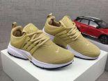 nike air presto 耐克王一代女子運動跑步鞋 糖果系列網面透氣緩震慢跑鞋 棕黃色