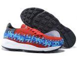 Nike Air Footscape Woven 2018新款 藤原浩潮流情侶編織鞋 紅藍