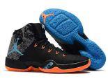 Air Jordan 30.5代 2018新款 喬丹30.5代男生籃球鞋 黑藍橘