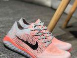 Nike Free RN Flyknit 2018新款 赤足5代編織輕便情侶慢跑鞋