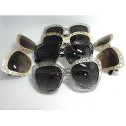 D&G眼鏡 DOLCE&GABBANA新款上新墨鏡 DG2164時尚鑲鑽貓眼太陽眼鏡