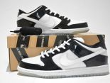 nike dunk low concord sb aj11 low 大灌籃網面透氣時尚情侶板鞋 白黑色