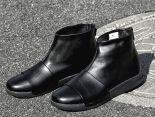 nikelab benassi boot lux 貝納西限量版皮質高幫運動靴男鞋 全黑色