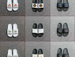 adidas拖鞋 2019新款 簡約經典款男女生休閒拖鞋 多色可選2