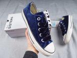 Converse All Star Bigeyelets OX 匡威情侶款絲絨休閒板鞋