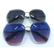 chanel太陽眼鏡 香奈兒2017新款太陽眼鏡 9526創意無框幾何太陽眼鏡