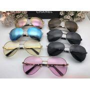chanel眼鏡 香奈兒2017新款上市 香奈兒5820經典款金屬邊太陽眼鏡