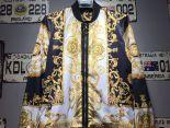 versace凡賽斯 2017新款 花紋休閒男生夾克外套