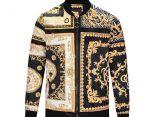 versace凡賽斯 2017新款 時尚男生夾克外套 復古花紋