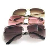 chanel眼鏡 香奈兒2017新款太陽眼鏡 71178幾何型無框太陽眼鏡