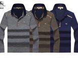 Burberry polo衫 2019新款 簡約男生休閒翻領polo衫 MG6803款