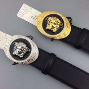 versace皮帶 範思哲2018新款 ZJ金銀扣時尚腰帶