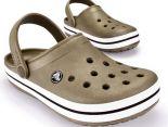 crocs特賣會2014 Crocband卡駱班情侶款洞洞鞋 棕色休閒鞋 沙灘鞋