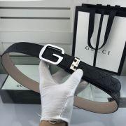 gucci皮帶 古馳2018新款 HF104牛皮磨砂牛皮底鋼扣時尚腰帶