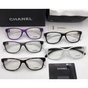 chanel眼鏡 香奈兒2017年7月新款眼鏡 3314時尚簡約休閒平光眼鏡