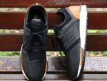 revlite new balance 247 全新創作型號classic系列針織網面時尚情侶款跑鞋 黑棕色