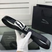Jaguar皮帶 捷豹2018新款 HF96牛皮鱷魚紋時尚腰帶