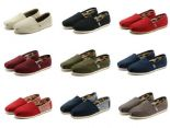 toms鞋 經典鞋款 簡約男女平底帆布鞋