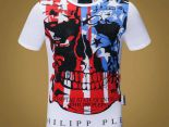 philipp plein 服飾 2018新款 骷髏男生休閒圓領短袖T恤 MG8826款