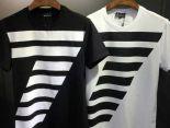 armaniT恤 2018新款 條紋7男生休閒圓領短袖T恤 MG
