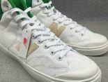 New Balance 板鞋 紐巴倫情侶休閒帆布中筒板鞋 白綠