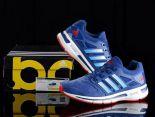 adidas energy boost 2 林書豪同款爆米花二代豬八革時尚男生跑鞋 藍色