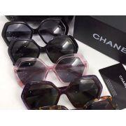 chanel眼鏡 香奈兒2017年5月新款眼鏡 5367幾何圖形休閒太陽眼鏡