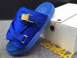 clot x suicoke 涼鞋 2017明星同款 純色復古織帶時尚情侶沙灘拖鞋 彩藍色