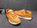 nike mayfly woven 超輕量編織透氣時尚情侶款跑鞋 橘黃色