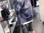 balenciaga衣服 2019新款 刺繡男生潮流牛仔外套 JM