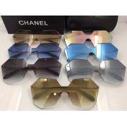 chanel眼鏡 香奈兒2017年5月新款眼鏡 4280多邊形無框太陽眼鏡