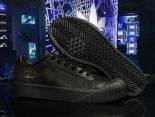 adidas Originals Everyn 2018新款 皮質情侶休閒板鞋 全黑
