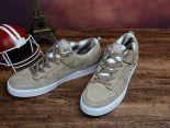 nike dunk high sb 2017新款 豬八革低幫時尚男生滑板鞋 米灰色