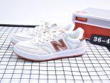 New Balance CRT300系列 2017新款 皮質復古休閒情侶板鞋 白玫瑰金