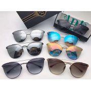 DITA眼鏡 2017新款墨鏡推薦 DITA PLIGHT貓眼款時尚金屬邊太陽眼鏡