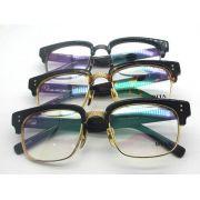 DITA眼鏡專賣店 DITA STATSMAN創意半框學院風平光眼鏡